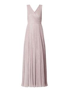 Różowa sukienka Vera Mont maxi bez rękawów