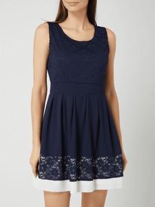 Sukienka APRICOT mini bez rękawów z szyfonu