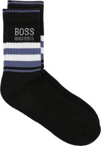 Czarne skarpety Boss