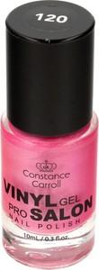 Constance Carroll, lakier do paznokci z winylem nr 120 Pearly Rose, 10 ml