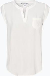 Bluzka Marie Lund z dekoltem w kształcie litery v z krótkim rękawem