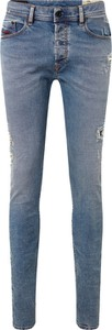 Jeansy Diesel z jeansu