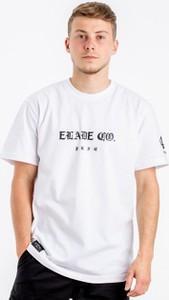 T-shirt Elade z żakardu z krótkim rękawem