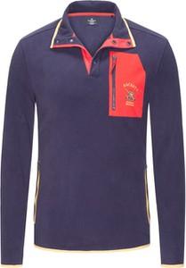 Niebieska bluza Hackett