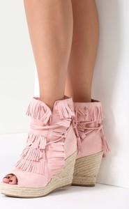 Renee różowe sneakersy sheev
