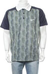 Koszulka polo Reebok z nadrukiem