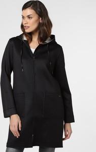 Czarny płaszcz comma, w stylu casual