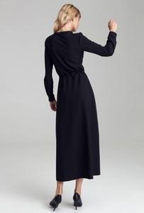 Sukienka Colett z długim rękawem maxi
