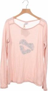 Różowa bluzka dziecięca KARL MARC JOHN z długim rękawem dla dziewczynek