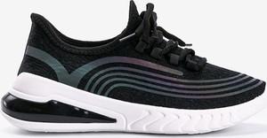 Czarne buty sportowe Gemre.com.pl ze skóry
