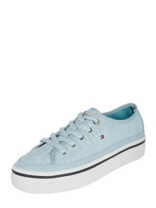 d36d3ccdbb967 Niebieskie buty damskie Tommy Hilfiger, kolekcja wiosna 2019