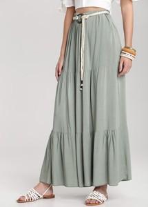 Zielona spódnica Renee maxi