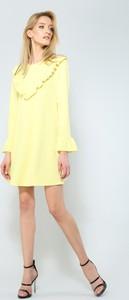 Renee żółta sukienka exciting