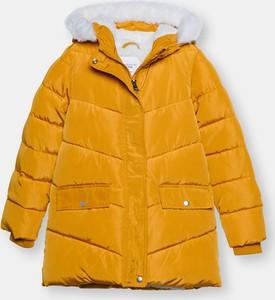Żółta kurtka dziecięca Sinsay
