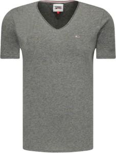 T-shirt Tommy Hilfiger z krótkim rękawem w stylu casual z bawełny