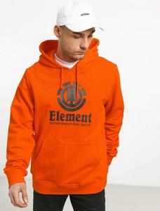 Pomarańczowa bluza Element z bawełny