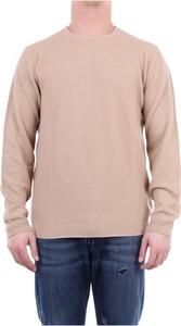 Różowa koszulka z długim rękawem Daniele Fiesoli z bawełny