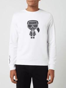 Bluza Karl Lagerfeld z nadrukiem w młodzieżowym stylu z bawełny