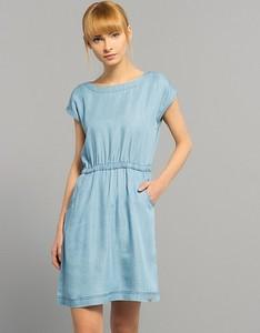 Diverse sukienka lilni j. niebieski