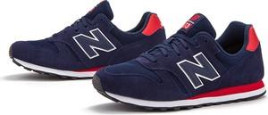 Buty sportowe New Balance ze skóry sznurowane
