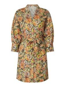 Brązowa sukienka EDITED w stylu casual