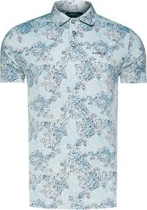 Koszulka polo Chervo z krótkim rękawem z tkaniny