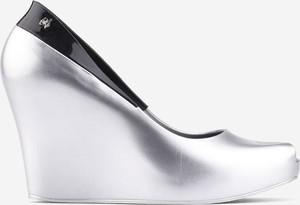 Srebrne sandały Yourshoes