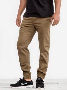 Spodnie Wrung Division z bawełny