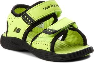Zielone buty dziecięce letnie New Balance
