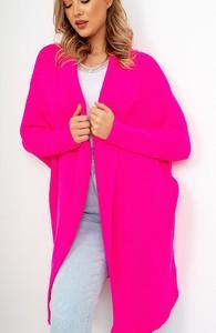 Różowy sweter ZOiO.pl z wełny