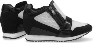 Czarne buty sportowe gemre
