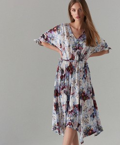 d9a892cbf5313 Sukienka Mohito z długim rękawem midi