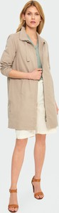 Płaszcz Greenpoint z bawełny w stylu casual