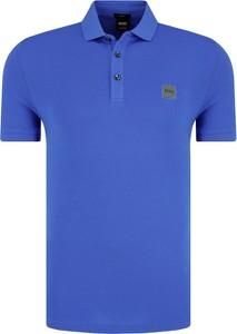 Koszulka polo BOSS Casual w stylu casual z krótkim rękawem