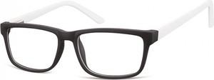 Stylion Okulary Zerówki oprawki Sunoptic CP157D czarno-białe