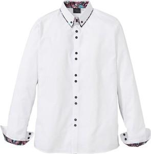 Koszula bonprix RAINBOW z kołnierzykiem button down w stylu casual