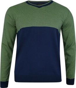 Zielony sweter Elkjaer w stylu casual