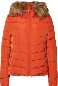 Pomarańczowa kurtka Only krótka w stylu casual