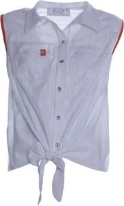 Koszula Fokus w stylu casual bez rękawów