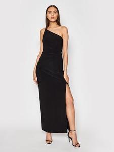 Czarna sukienka Ralph Lauren z okrągłym dekoltem
