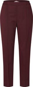 Czerwone spodnie Calvin Klein z bawełny