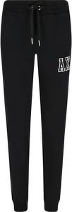Czarne spodnie sportowe Armani Jeans w sportowym stylu