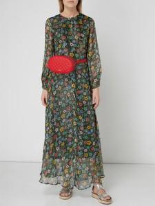 Sukienka Essentiel z okrągłym dekoltem w stylu casual koszulowa