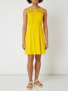 Żółta sukienka Tom Tailor Denim