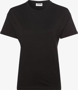 Czarny t-shirt Noisy May z krótkim rękawem z okrągłym dekoltem