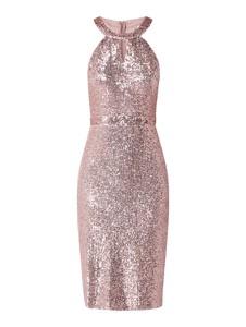Sukienka Troyden Collection bez rękawów z okrągłym dekoltem