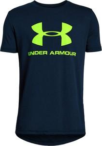 Koszulka dziecięca Under Armour z bawełny