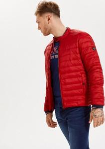 Czerwona kurtka Diverse w stylu casual krótka