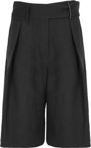 Czarne szorty Brunello Cucinelli w stylu retro