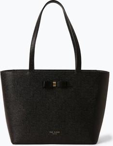 Czarna torebka Ted Baker duża w wakacyjnym stylu